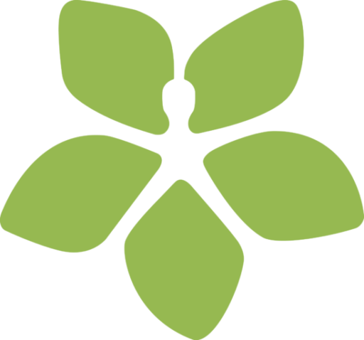 HSS logo flower lime favicon