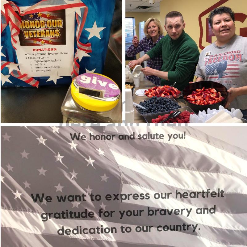 veteran donations