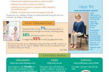 COVID wellbeing newsletter
