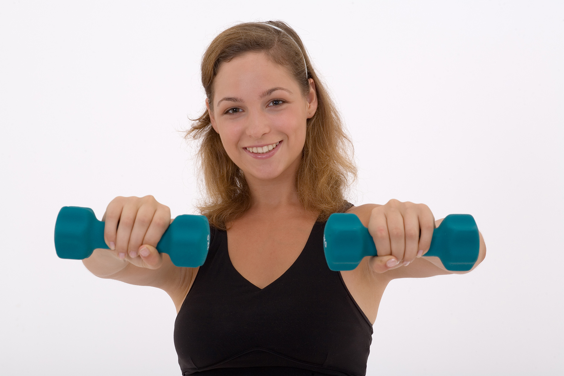 Weights.woman.teal