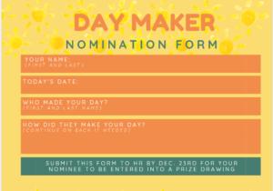 day maker nomination