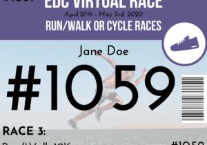 virtual race bib